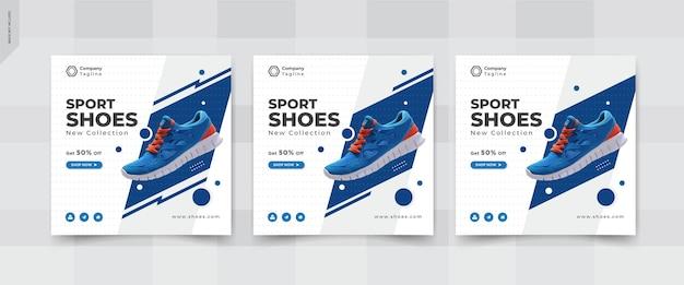 Publication sur les réseaux sociaux instgram de chaussures