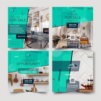 Publications instagram de l'immobilier