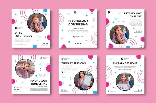 Publications instagram de psychologie