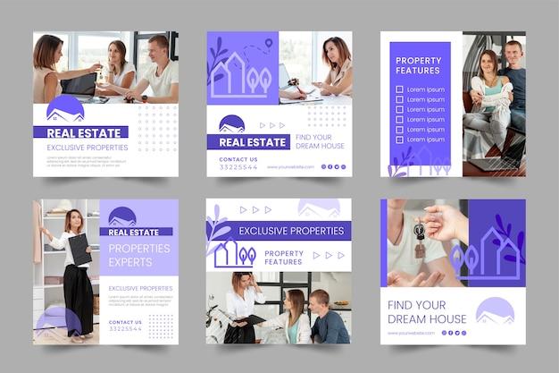 Publications sur les réseaux sociaux immobiliers