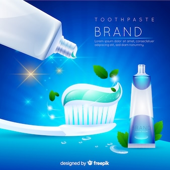 Publicité de dentifrice