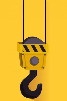 Publicité graphique en construction
