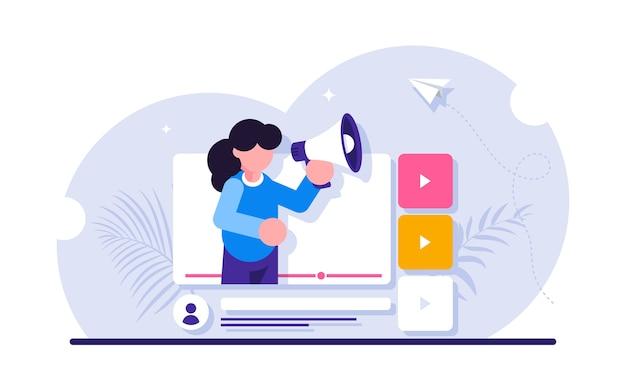 Publicité en ligne promotion internet publicité numérique ou promo