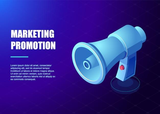 Publicité marketing numérique, promotion marketing