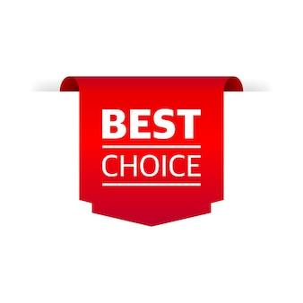 Publicité rouge 3d autocollant best-seller vecteur 3d publicité produit badge bannière de vente