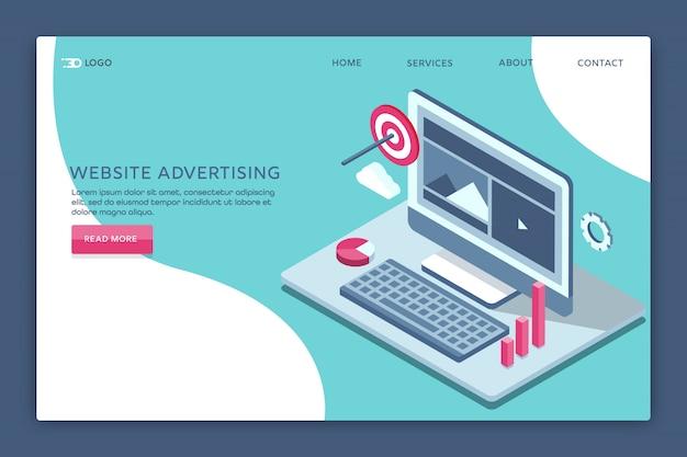 Publicité sur le site