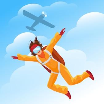 Pull parachutiste femme