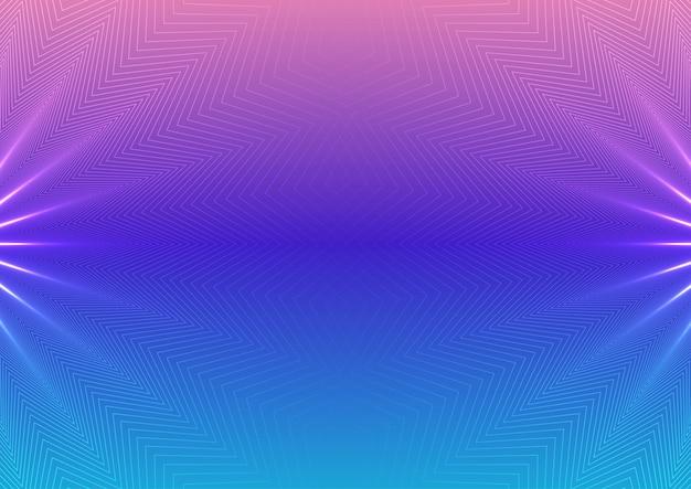 Purble abstrait et fond bleu