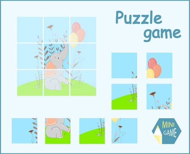 Puzzle pour enfants