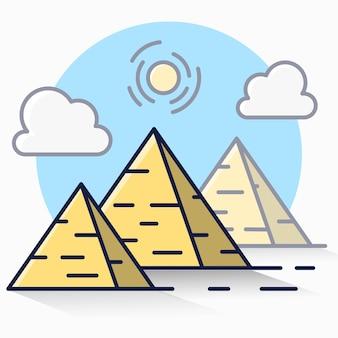 Pyramide d'egypte