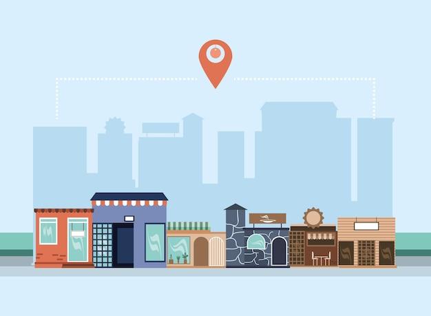Quartier des petites entreprises