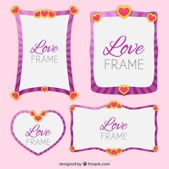 Quatre belles images d'amour