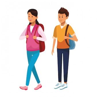 Quelques avatars d'étudiants