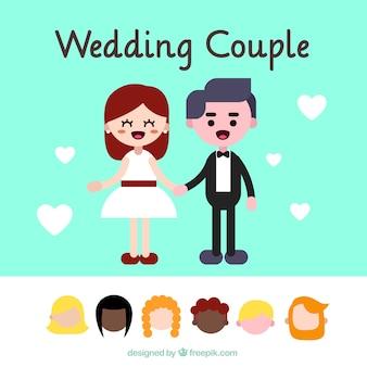 Quelques caractères de mariage