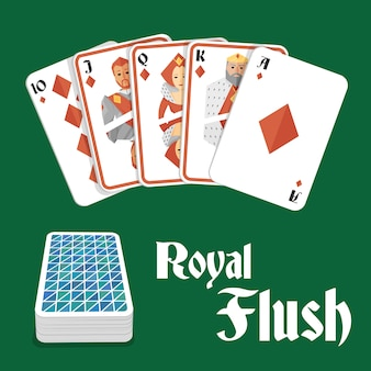 Quinte flush royale au poker