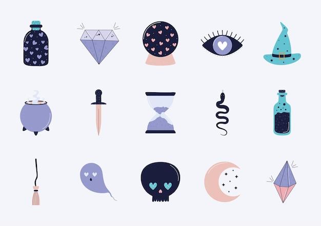 Quinze objets magiques