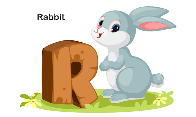 R pour lapin
