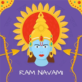 Ram navami avec dieu hindou