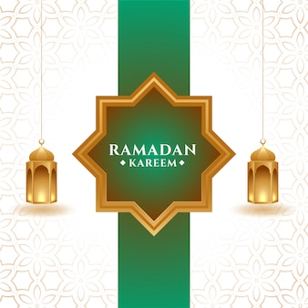 Ramadan kareem fond de saison festival islamique