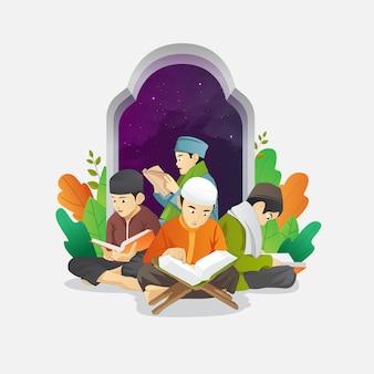 Ramadan kids activity récitation coran