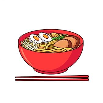 Le ramen est un aliment typique du japon