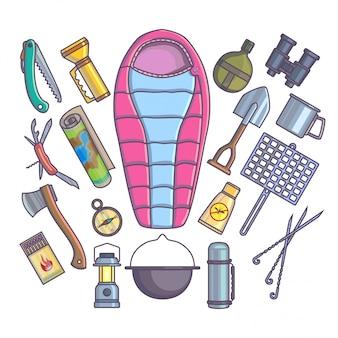 Randonnée camping matériel d'alpinisme