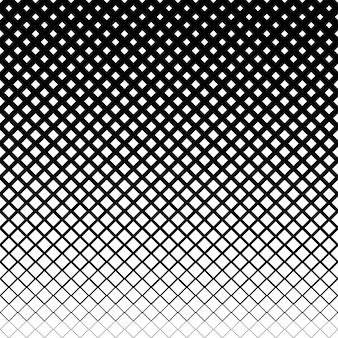Rangées de demi-teintes de carrés abstraits vectoriels ou texture pour le modèle de conception