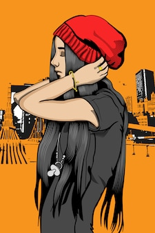 Rap fille