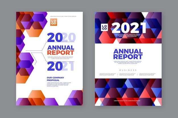 Rapport annuel abstrait