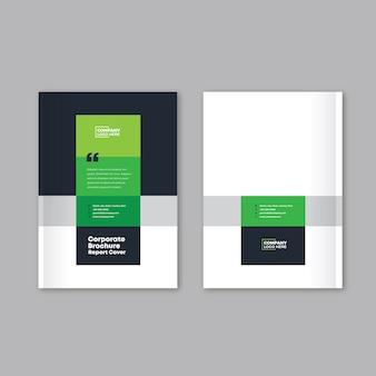 Rapport annuel, catalogue, conception de la couverture de la brochure