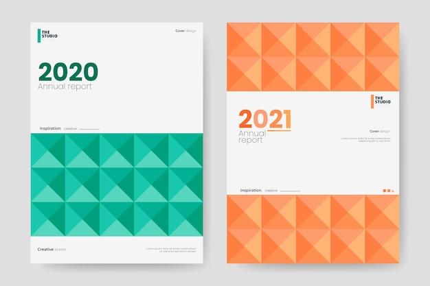 Rapport annuel géométrique