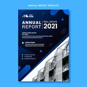 Rapport annuel immobilier dégradé