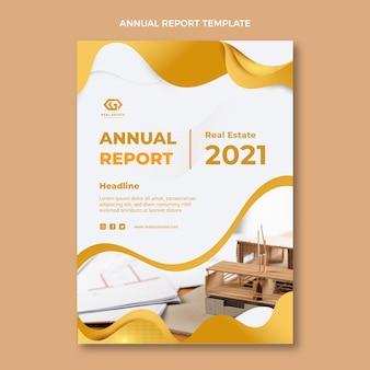 Rapport annuel sur l'immobilier à texture dégradée