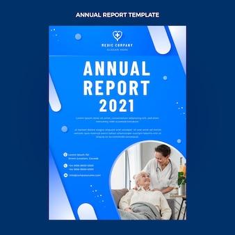 Rapport annuel médical de gradient