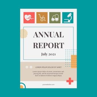 Rapport annuel médical plat