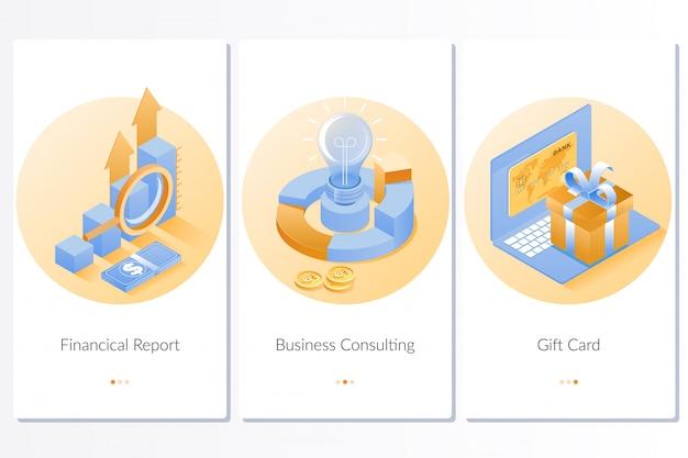 Rapport financier carte-cadeau business consulting