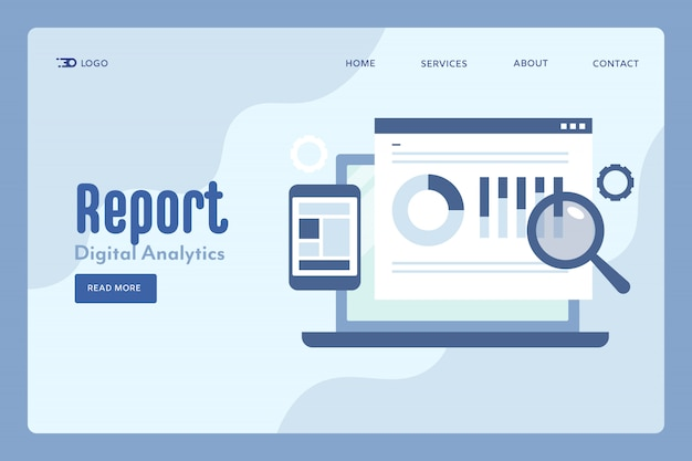Rapport numérique en ligne