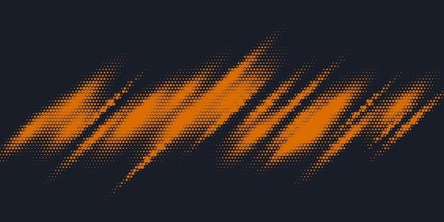 Raster d'impression monochrome, fond de demi-teinte vecteur abstrait.