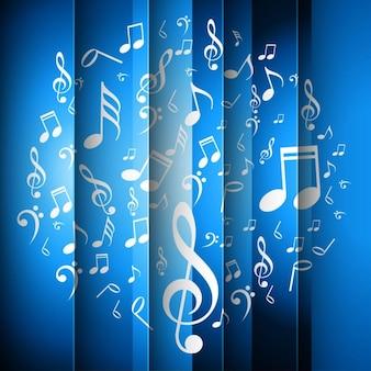 Rayé bleu musique de fond