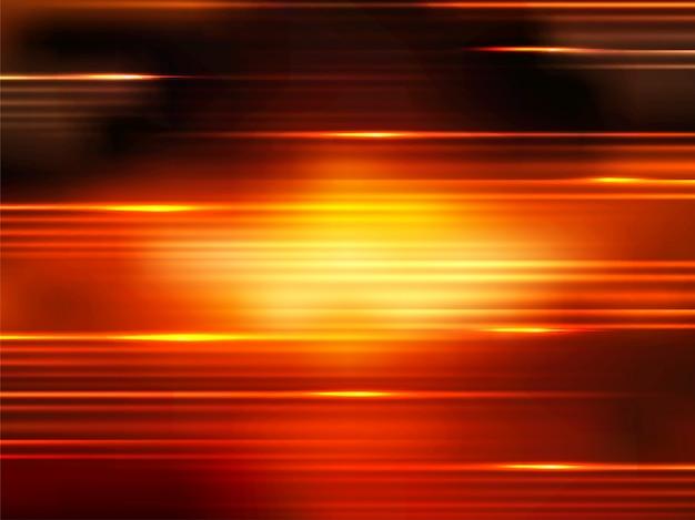 Rayon lumineux, lignes de rayures, modèle de mouvement de vitesse et arrière-plan flou de mouvement.