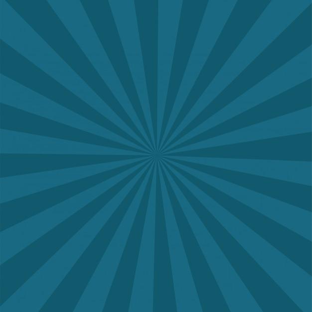 Rayons de lumière rétro cirque sunburst