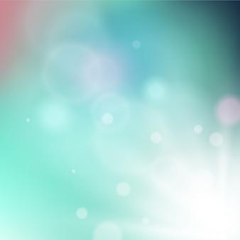 Rayons rayonnants sur fond coloré doux