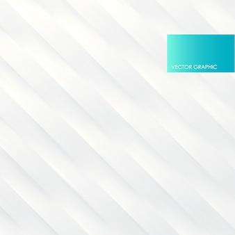 Rayures blanches ondulées diagonales, vecteur abstrait.
