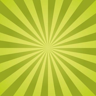 Rayures radiales de motif de noël de vecteur sunburst.