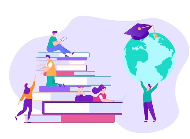 Réalisation des objectifs des étudiants. e-learning