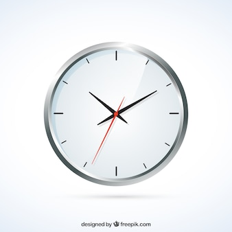 Réaliste horloge murale