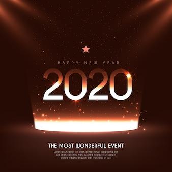 Réaliste nouvel an 2020