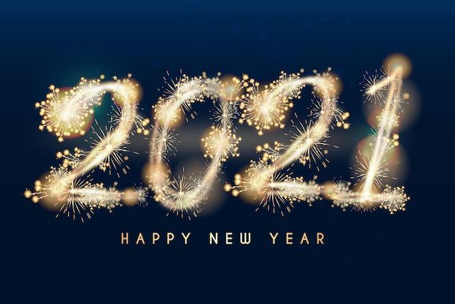 Réaliste nouvel an 2021