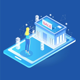 Réalité augmentée pour faire des achats en ligne