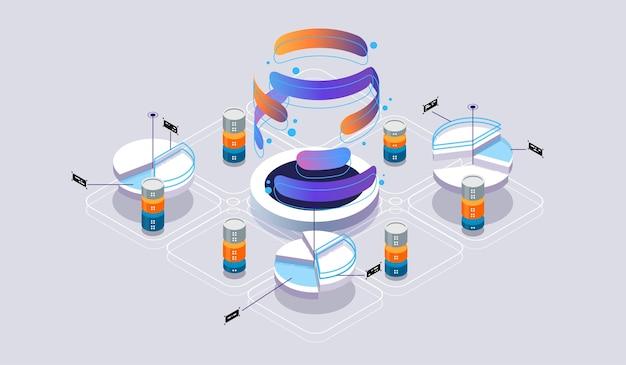 Réalité virtuelle isométrique et développement de logiciels